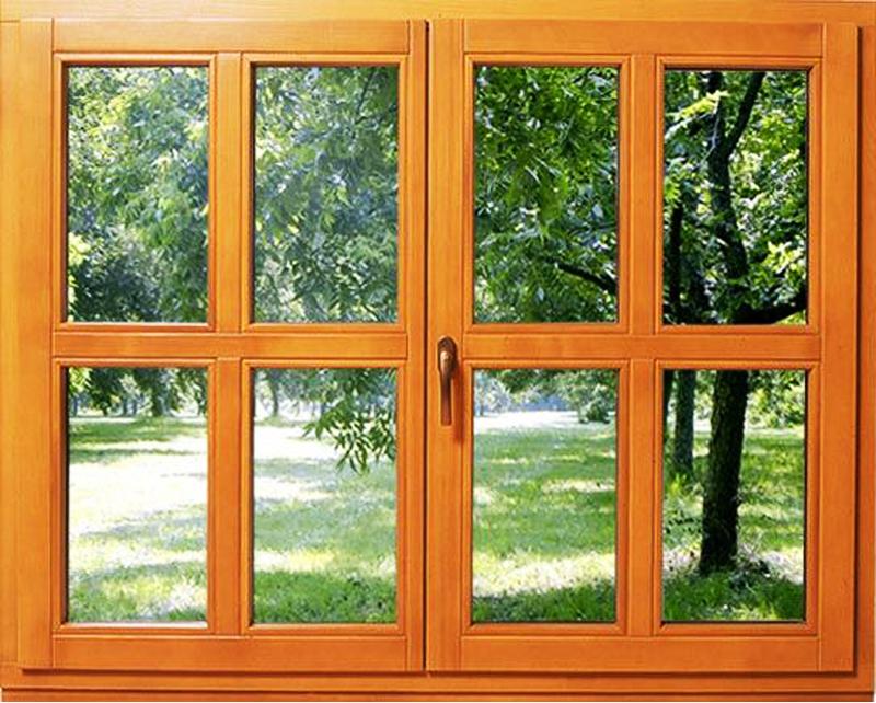 蓝卡门窗  88内平开实木系列-05