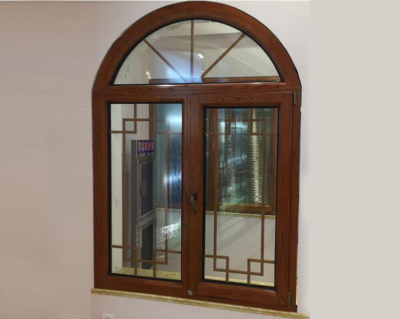 蓝卡门窗  88异形铝木系列-01