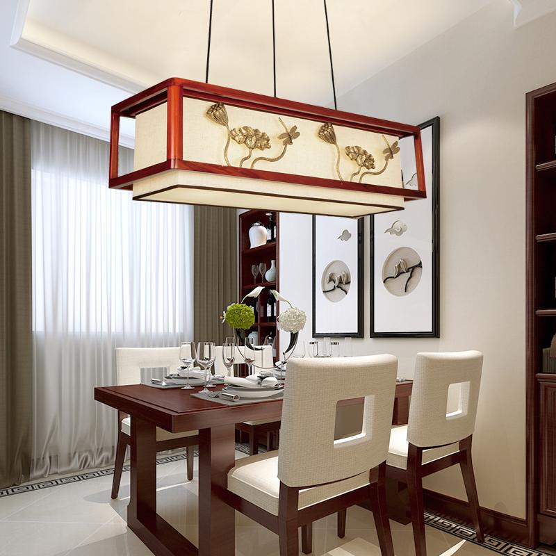 现代灯饰ZT中式木艺客厅卧室灯QS002