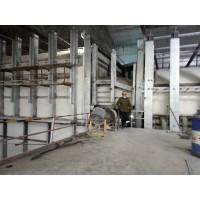 玻璃窑蓄热室保温