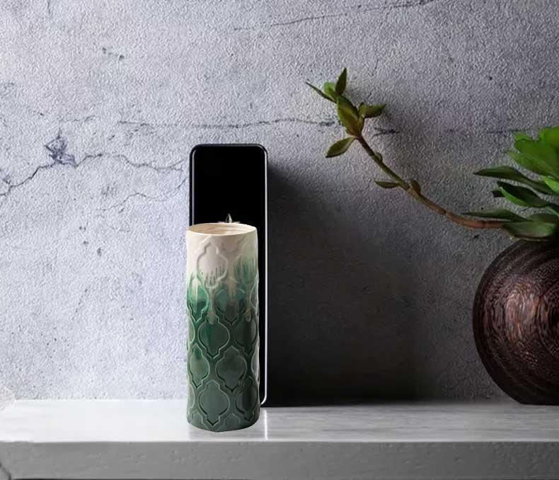 东方灯饰 ZT圆筒陶瓷花瓶M413S