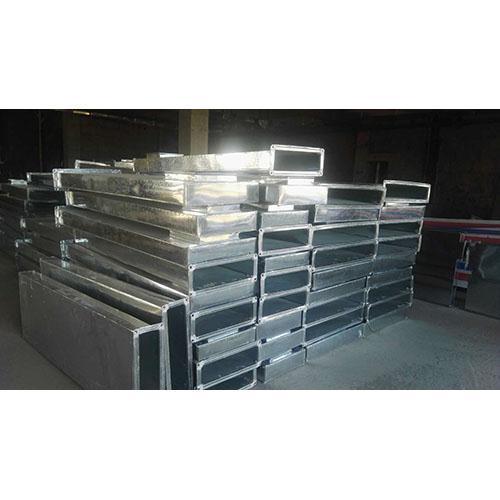 洁净通风设备   镀锌板制作净压箱2
