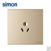 西蒙(SIMON)西蒙开关插座E6系列大板香槟金三孔空调插座
