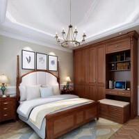 福星家具卧室实木家具