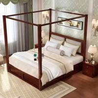 福星家具实木床1