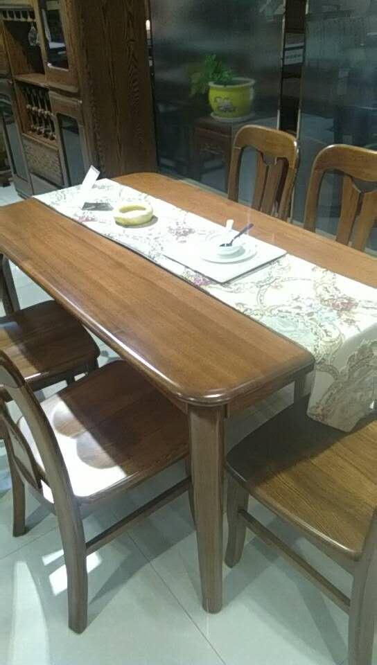 水曲柳餐桌