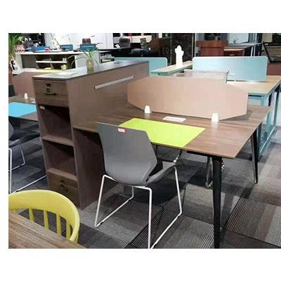 安迪办公家具办公桌四人位