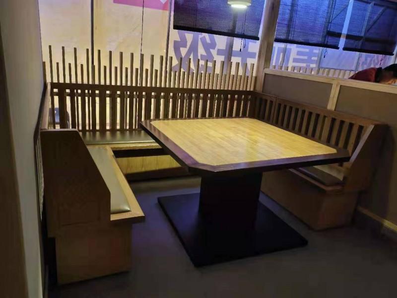 福星实木方桌酒店桌