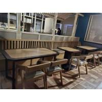 福星实木长桌酒店桌