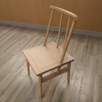 福星实木方椅酒店椅