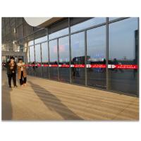 河南 南阳高铁站广告 高铁站防撞玻璃贴广告 广告位招租