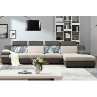 棉麻布艺沙发