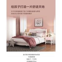 掌上明珠韩式田园风格1.35米儿童床