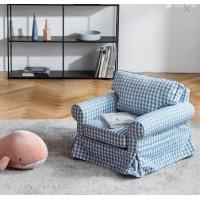 美式布艺小沙发