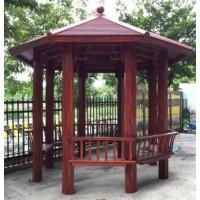中式八角凉亭