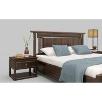 新中式实木床头柜