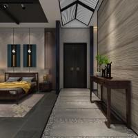 卧室实木家具展示