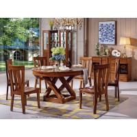 乌金木餐桌椅