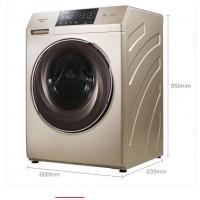 荣事达全自动家用滚筒洗衣机10公斤RG-F100271BE