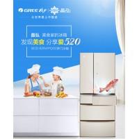 晶弘冰箱 520升法式对开BCD-520WPQG2