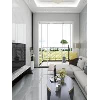 通体大理石地板砖800x800全抛釉客厅高级灰地砖耐磨