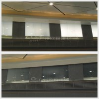 大学教学楼投影玻璃幕墙OY-4