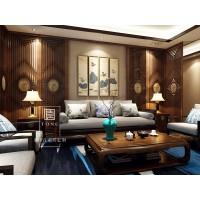 客厅空间-玛格唐 新中式家居定制