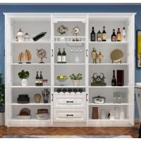 酒柜白色欧式现代简约