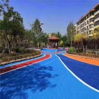 透水混凝土地坪生态透水混凝土透水率高,环保材料+专业施工队伍