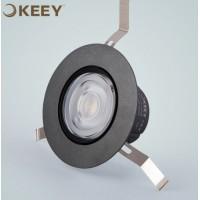 led射灯9W开孔8公分超薄COB射灯
