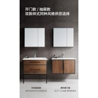 惠达卫浴现代简约洗手脸盆柜组合卫生间洗漱台1382