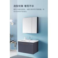 惠达卫浴室柜简约浴柜实木一体洗手盆组合1561-100