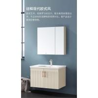 惠达卫浴现代轻奢欧式实木浴室柜组合洗手台洗脸盆柜