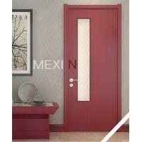 美心木门 免漆静音环保浴室门 卫生间玻璃门 定制厨房2091