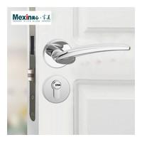 美心木门 室内门套装门锁具合页门吸三件套组装门标配五金件