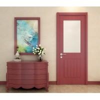 美心木门 玻璃门室内门免漆门实木复合门厨房卫生间门7264