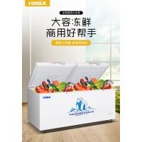 冰熊1088L冷柜家用商用大容量冷冻柜