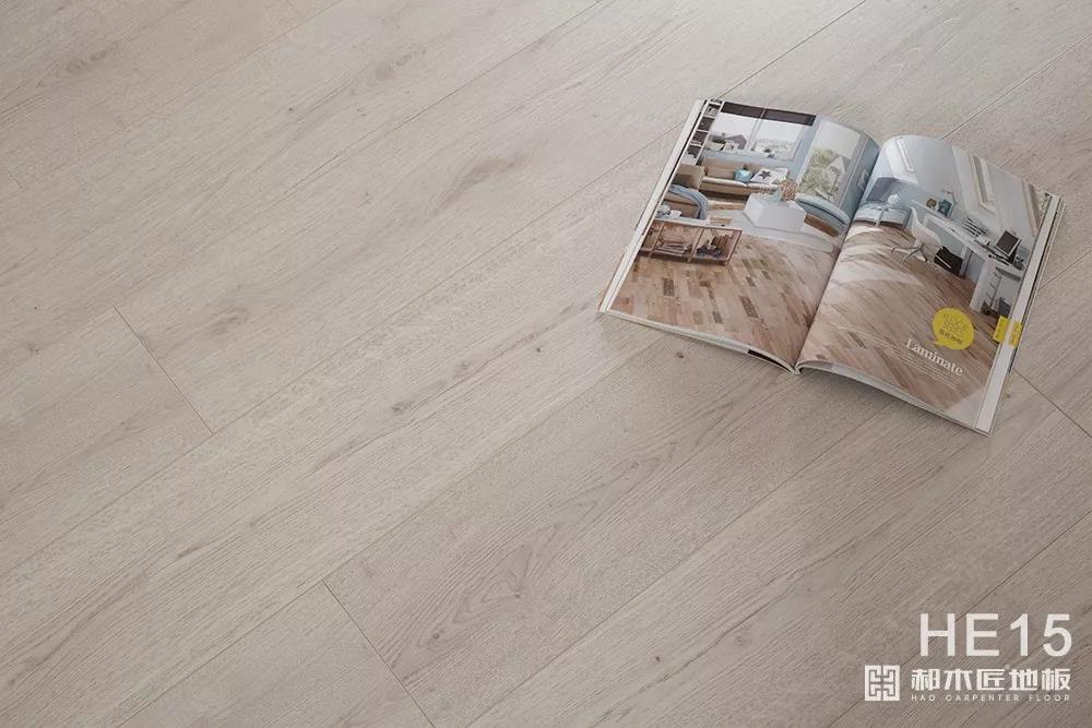 高圆圆木地板 强化复合地板HE15