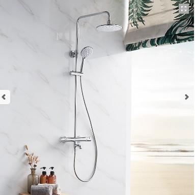 九牧增压节能恒温防烫花洒硬管淋浴器26135